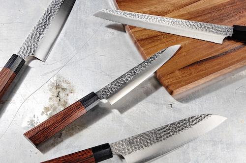 Kanetsugo Heptagon 3-Lagenstahl Messer