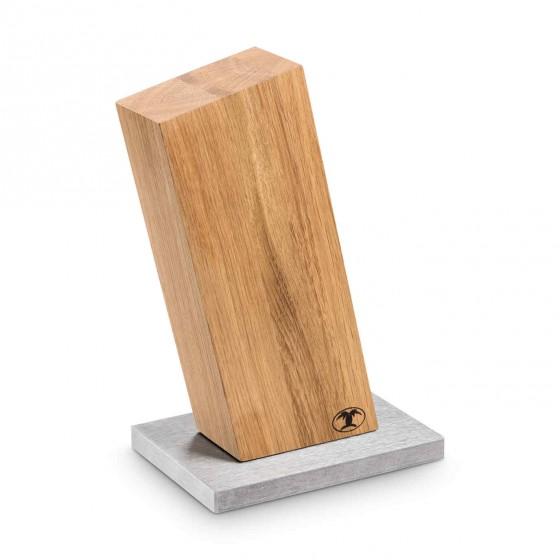 """Blockwerk Messerblock Eiche """"13 Grad"""" für 4 Messer"""