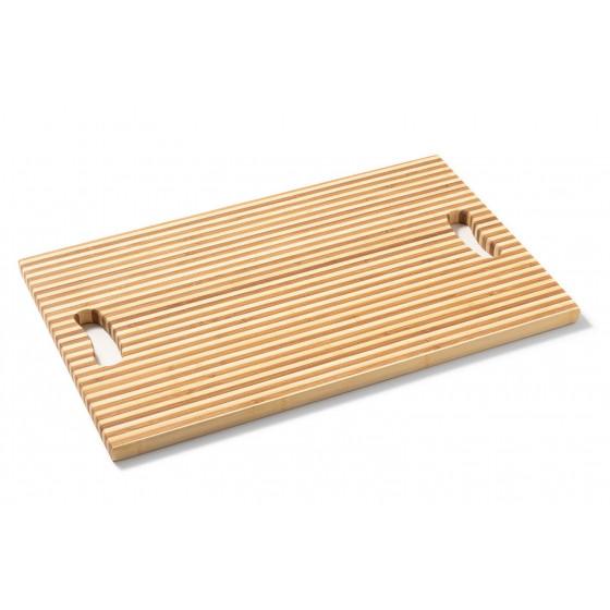"Macani Schneidbrett Stripes XL ""Tropicboards"" Bambusholz TB007"