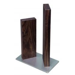 KAI Magnet-Messerblock Stonehenge Edelstahl/Walnuss STH-4.1