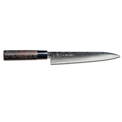 Tojiro SIPPU Black Damast Tranchiermesser 21 cm FD-1599