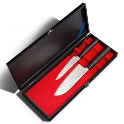 Tojiro SIPPU Black Damast Messerset 2-teilig