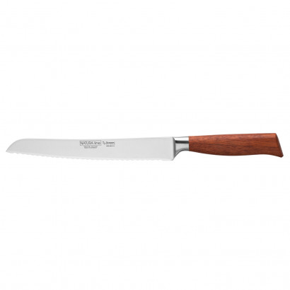 "Burgvogel Brotmesser 23 cm Rotholz ""Nature Line"" 6990.906.23.2"