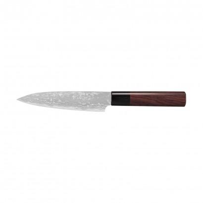 Sirou Kamo Damast Allzweckmesser 15 cm G1