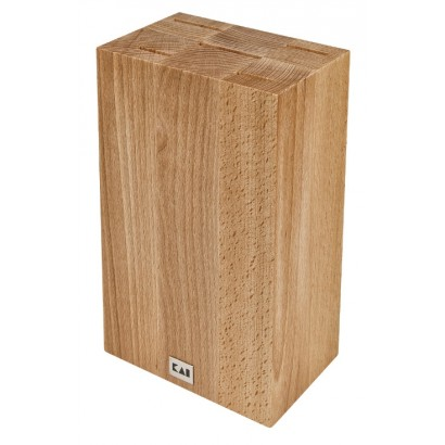 KAI Messerblock Cube Buchenholz DM-0819