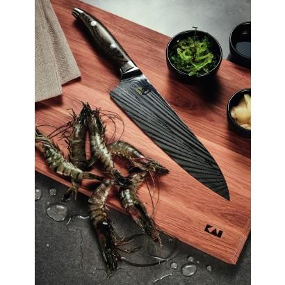 KAI Shun Nagare Kochmesser 20 cm + Schneidbrett NDC-W18