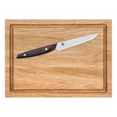 KAI SHUN Steakmesser + Steakbrett SBP-450