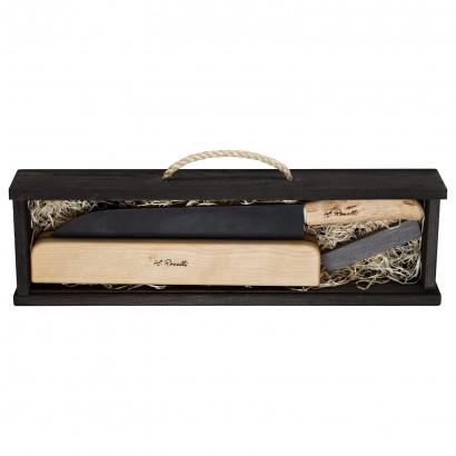 Roselli großes Santoku Messer 24,0 cm Geschenkset R720P