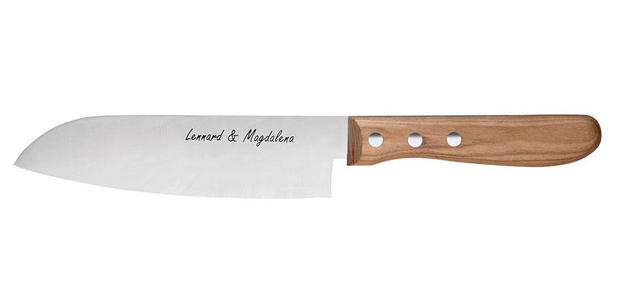 Beispiel Messer mit Gravur 4